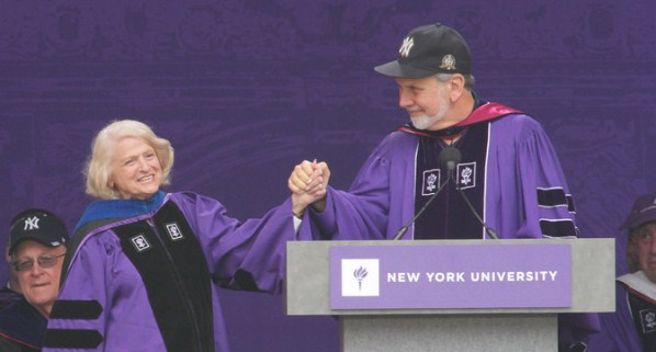 NYU awarded Defense of Marriage Act challenger Edie Windsor, Class of 1957, with its Presidential Medal