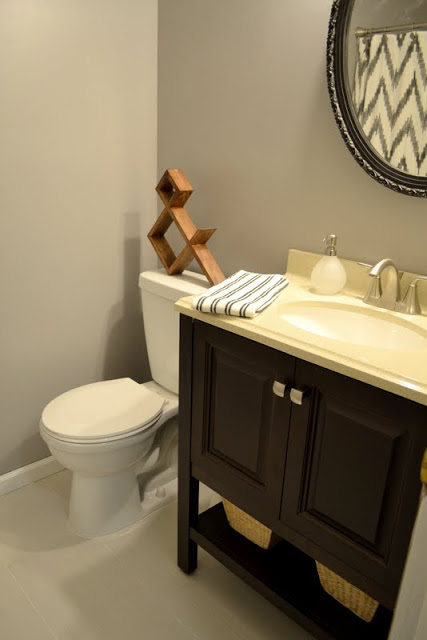 guest bathroom reveal ugly duckling house
