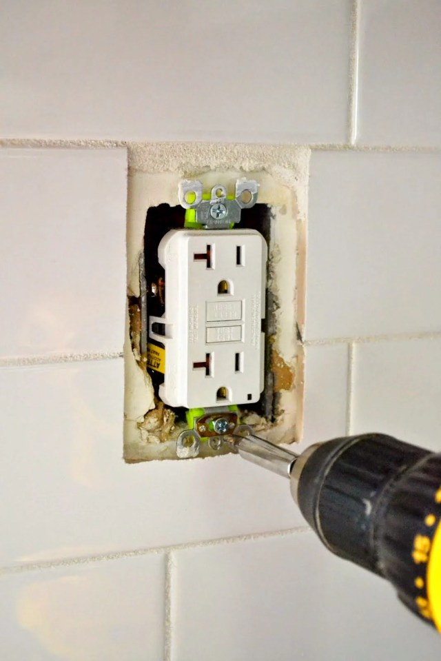 How to Extend an Outlet After Tiling and • Fix a Loose Outlet