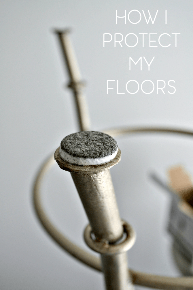 Pinterest-how I protect my floors