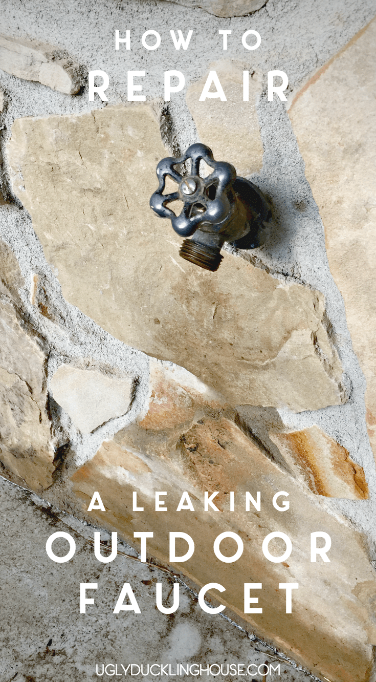 how to fix a leaking outdoor faucet
