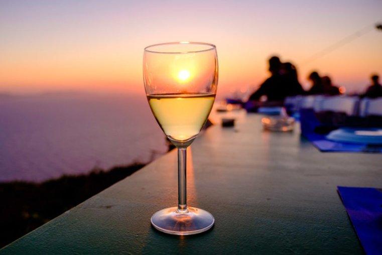 Sunset at Manalis Winery, Sikinos