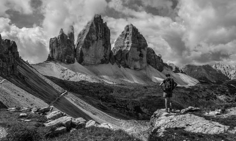 Jane and the Tre Cime
