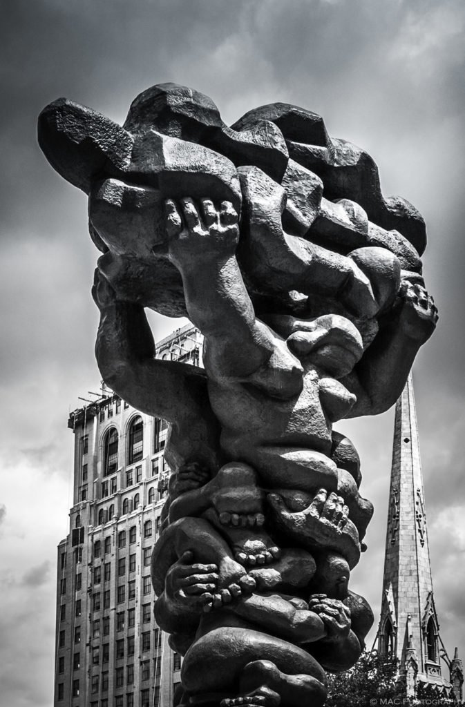 """Government of the People"" by Jacques Lipchitz"