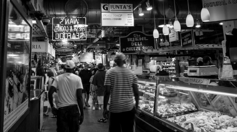 Inside the Reading Terminal Market