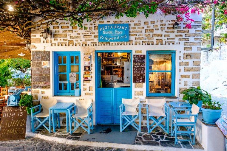 Nicolas' Place, Folegandros Chora, Greece