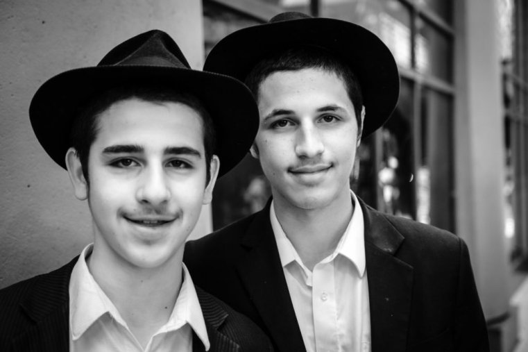 Two young Jewish men in Chicago