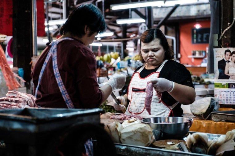 At the market, Chiang Mai, Thailand