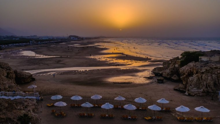 Shatti Al Qurm Beach, Muscat, Oman