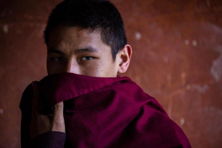 Young Monk, Bhutan © Robin Yong