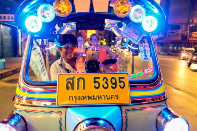 Tuk-tuk, Chinatown, Bangkok