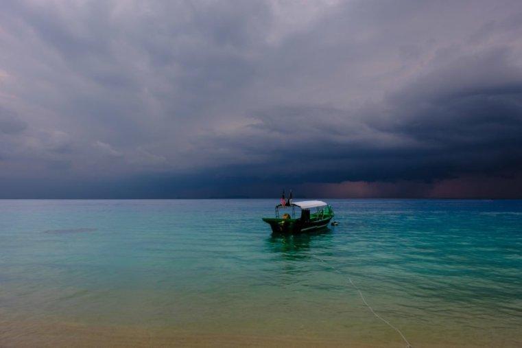 Approaching Storm, Perhentian Besar