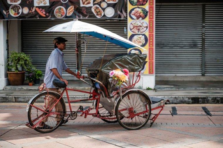 Trickshaw, Penang, Malaysia