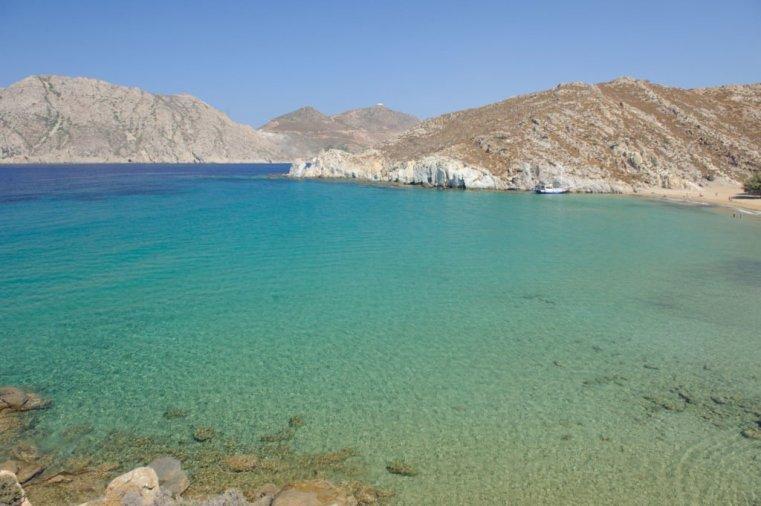 The beach of Psili Ammos