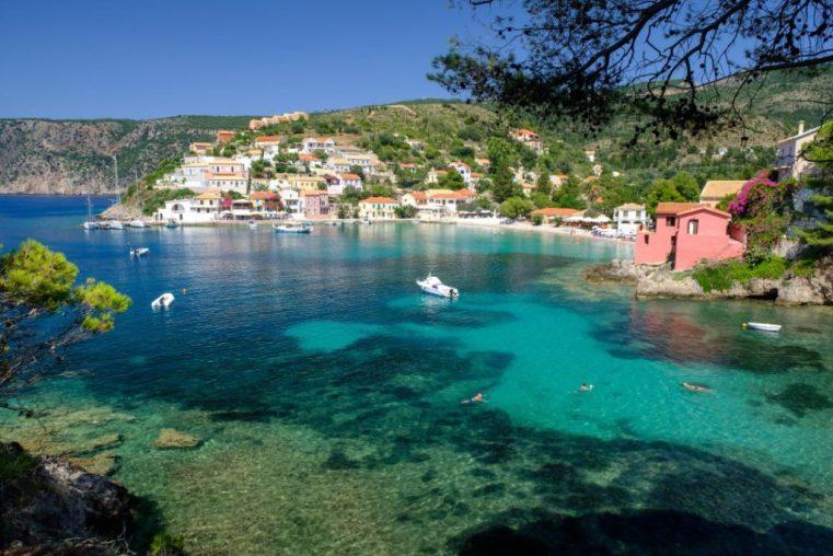 The beautiful village of Assos