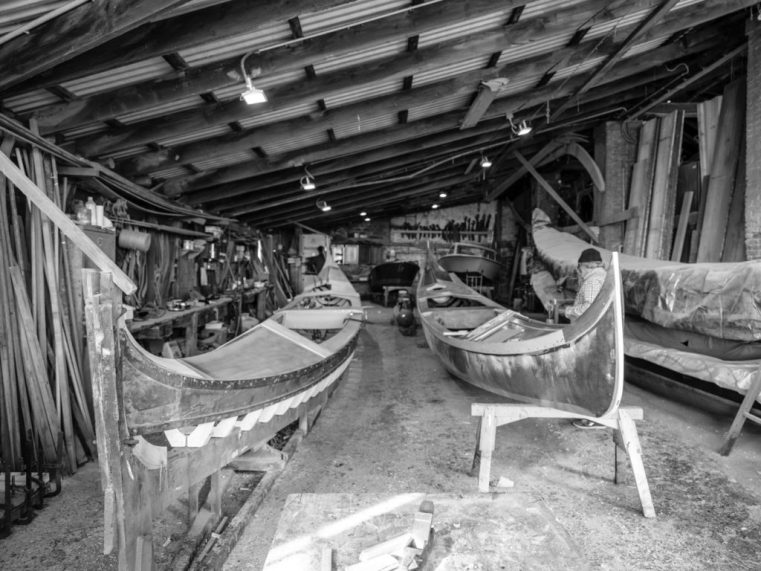 More gondolas in various stages of preparation