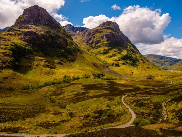 The Three Sisters, Glen Coe, Scotland