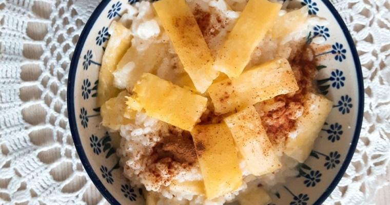 Ryż z ananasem