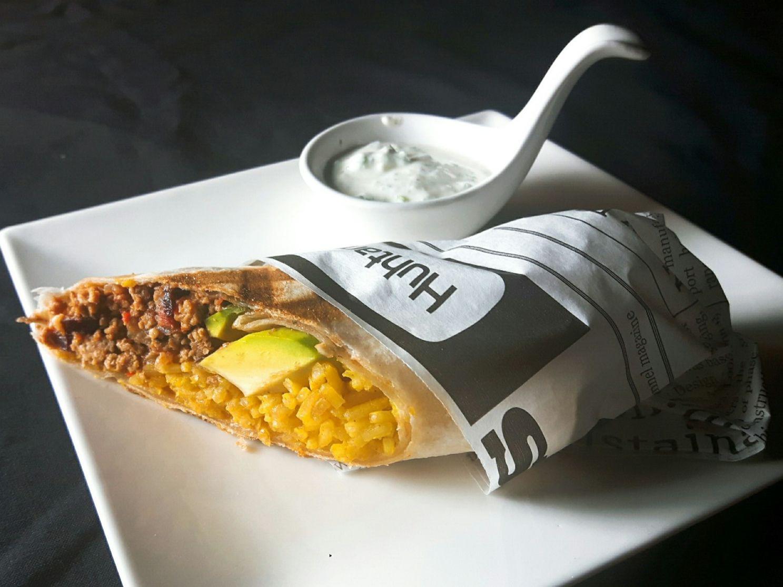 Burrito alla studio kulinarne The Plate