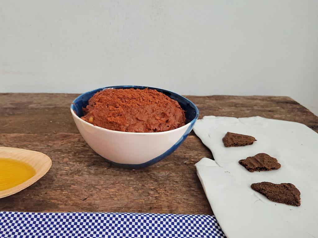 Hummus czekoladowy z olejem makadamia