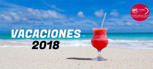 6 consejos para solicitar las vacaciones de 2018
