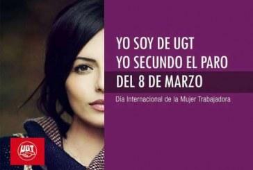 YO SOY DE UGT, YO SECUNDO EL PARO DEL 8 DE MARZO