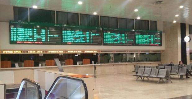 Asamblea informativa sobre la subrogación en las estaciones de Sants Estación, Paseo de Gracia y Estación de Francia