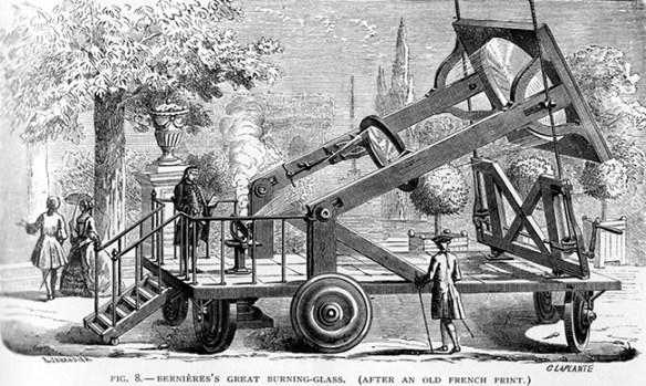 19th century solar heater