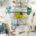 Beheiztes Bett und Zusammengebaute Elektronik