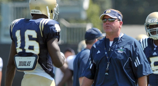 Brian Kelly - Notre Dame Spring Practice