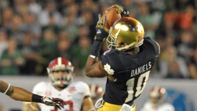 Davaris Daniels - Notre Dame's #1 WR?