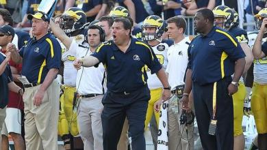 Brady Hoke and the Michigan Wolverines, 2013 Outback Bowl