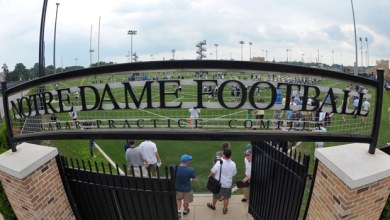 Notre Dame Spring Practice 2013