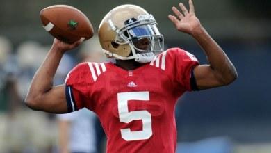 Everett Golson - Notre Dame Quarterback Depth