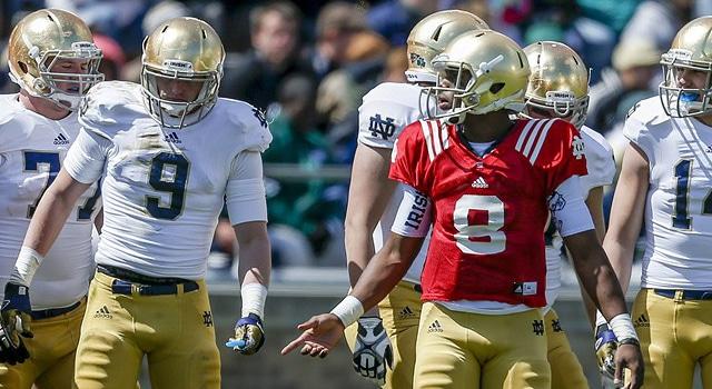 Malik Zaire & Mike Heuerman - Notre Dame Freshman Numbers