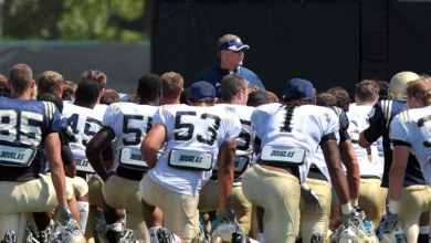 Notre Dame Football Fall Camp 2013 - Day 2