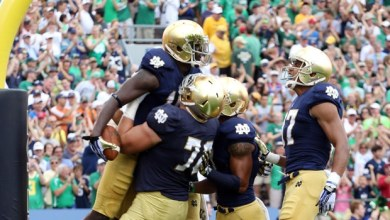 Notre Dame vs. Temple Highlights