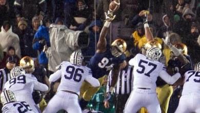 Jarron Jones - Blocked FG vs. BYU