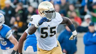Prince Shembo - Notre Dame @ Air Force