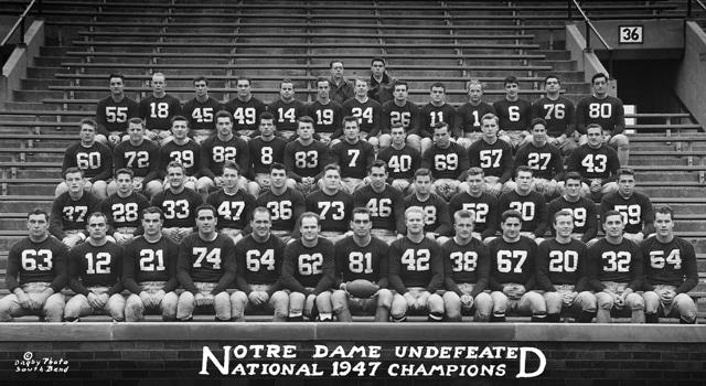 Frank Leahy, College Football's Greatest Coach // UHND.com