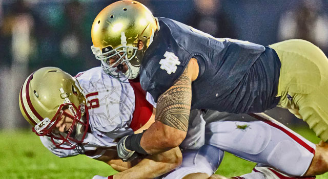 Notre Dame - Boston College Rivalry