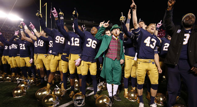 Notre Dame - Ranked #5 in Playoff Rankings