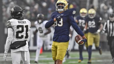 Chase Claypool - Notre Dame WR