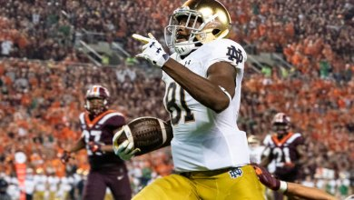 Notre Dame WR Miles Boykin