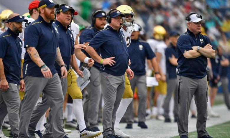 2020 Notre Dame Coaching Staff