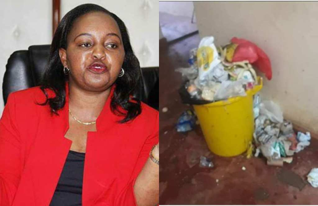 Anne Waiguru, You Sacked 346 Casual Health Workers and This is The Result