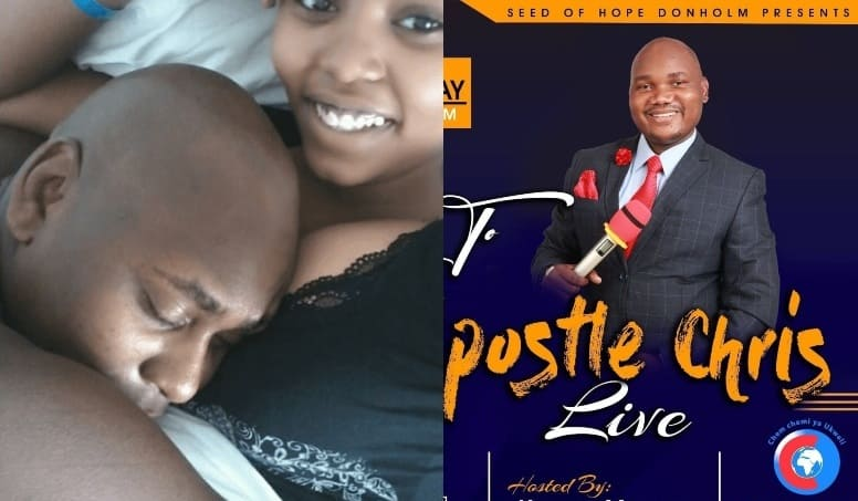 Exposed: Leaked Steamy Chats Show How Pastor Chris of Donholm Have Been Chewing Female Church Members