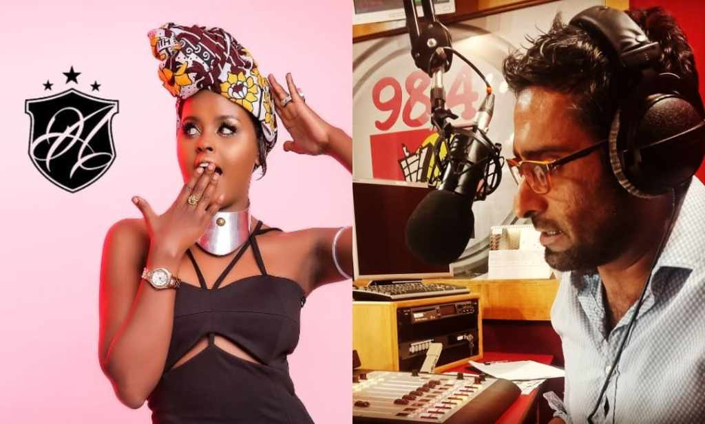 Capital FM's Fareed Khimani and Amina Abdi Fight Live on Air Over Pay (LOOK)