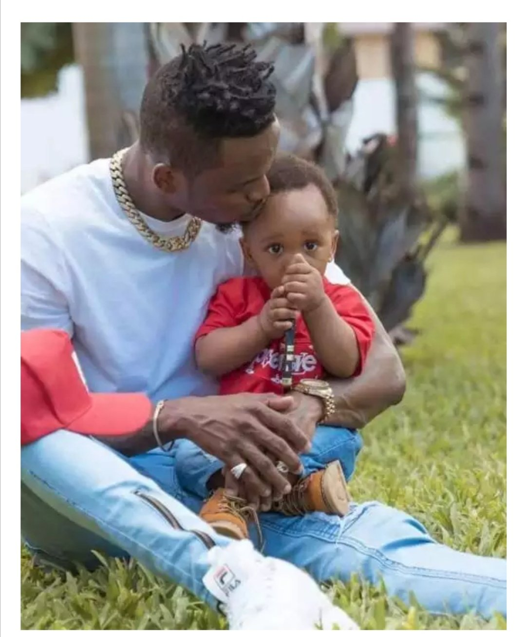 Diamond and his son Dylan.