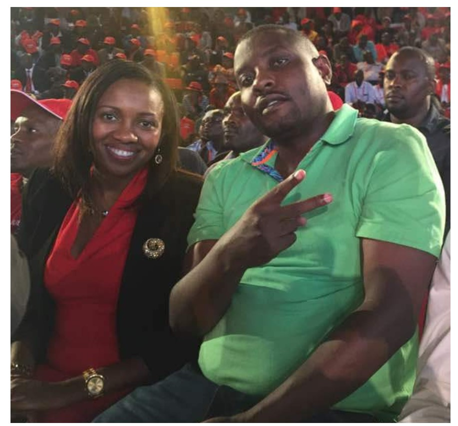 Senator Susan Kihika and her husband Sam Mburu